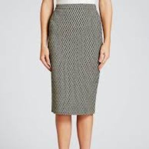 Weekend MaxMara NWT Zambia Black Pencil Skirt